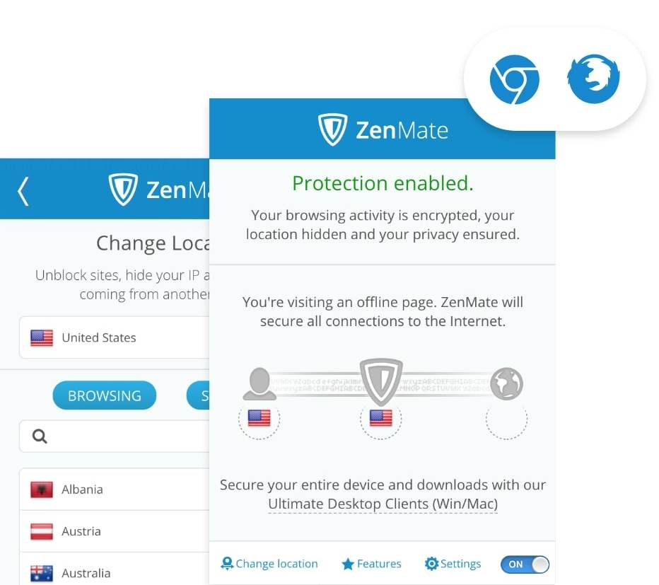 zenmate vpn extension